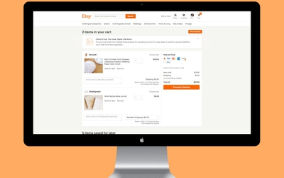 Etsy introducing Multi-Shop Checkout